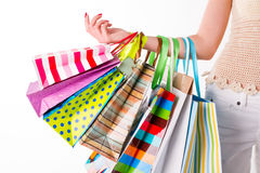 Shopping bags. Stock Photography