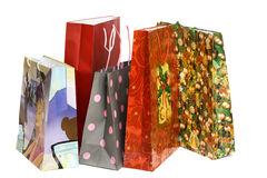 Shopping bags isolated Stock Photo