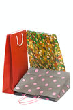 Shopping bags isolated Stock Images