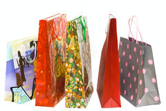 Shopping bags isolated Stock Photography