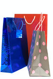 Shopping bags isolated royalty free stock images