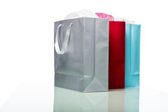 Shopping bags isolated Stock Image
