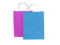 Shopping bags isolated on white backround Royalty Free Stock Image