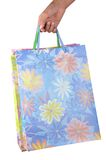 Shopping bags - path Royalty Free Stock Image