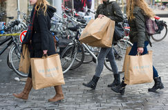 Shopping bags from Primark Royalty Free Stock Image