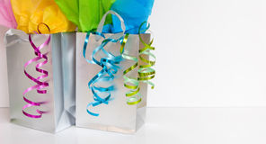 Shopping bags - room for copy Royalty Free Stock Photo