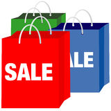 Shopping Bags - Sale Stock Photography
