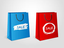 Shopping bags sale Royalty Free Stock Image