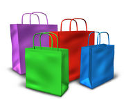Shopping bags sale symbol Stock Photo