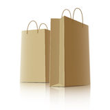 Shopping bags, vector Stock Photography