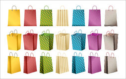 Shopping bags- vector Stock Photos