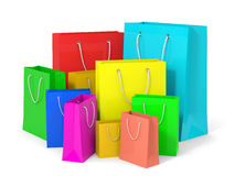 Shopping bags. Royalty Free Stock Photos