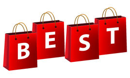 Best shopping icons Royalty Free Stock Images