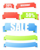 Shopping banners Stock Photo