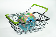 Shopping basket Stock Image