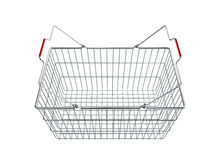 Shopping basket - 3d render Stock Photo