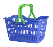 Shopping basket. On white background Stock Image