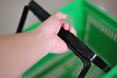 Shopping basket Stock Photos
