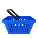 Shopping basket. 3d illustration  on white background Stock Image