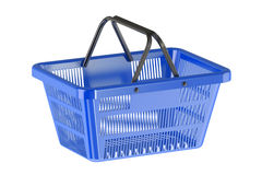 Shopping Basket. 3d on white background Royalty Free Stock Photography