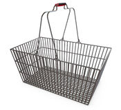 Shopping basket, empty, supermarket promotions Stock Photo