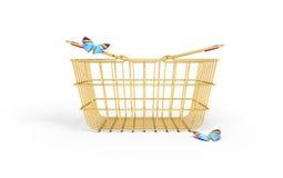 Shopping basket Royalty Free Stock Photo