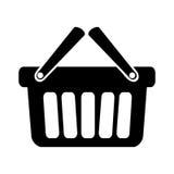 Shopping basket icon royalty free illustration