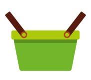 shopping basket isolated icon design Stock Photo