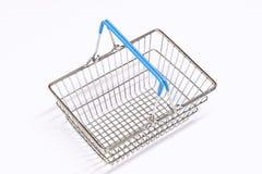 Shopping Basket Isolation Stock Image
