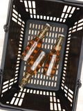 Shopping Basket Royalty Free Stock Photography