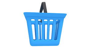 Shopping basket rotate Royalty Free Stock Photography