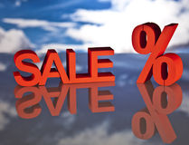 Shopping basket, sales and money. Big sales and attractive promotions Stock Photo