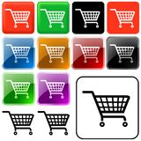Shopping Basket Sign Stock Photos