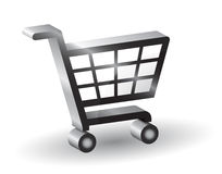 shopping basket sign, 3D Stock Photos