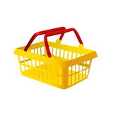 Shopping basket vector Royalty Free Stock Photography