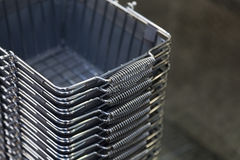 Shopping Baskets Stock Image