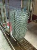 Shopping baskets. royalty free stock image
