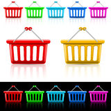 Shopping baskets Royalty Free Stock Photo