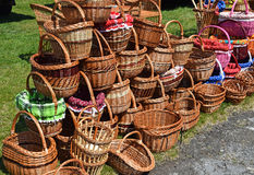Shopping baskets Stock Photo