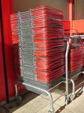 Shopping Baskets Royalty Free Stock Photo