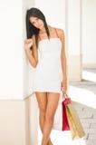 Shopping beauty. Stock Image