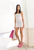 Shopping beauty. Stock Photo