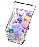 Shopping for Beauty Products Stock Images