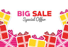 Shopping big sales offers Royalty Free Stock Photography
