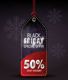 Shopping black friday day discounts Royalty Free Stock Photography