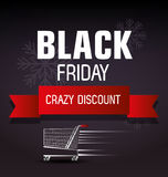 Shopping black friday day discounts Stock Photo