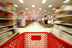 Shopping Blur 2 stock photos