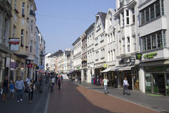Shopping in Bonn, Germany Royalty Free Stock Photography