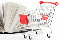 Shopping for Books Royalty Free Stock Images