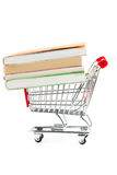 Shopping for Books Royalty Free Stock Photo